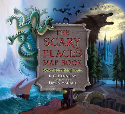 The Scary Places Map Book Cover