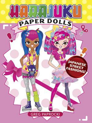 Harajuku Paper Dolls: Japanese Street Fashions! Cover Image