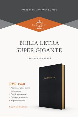 Cover for RVR 1960 Biblia letra súper gigante, negro imitación piel