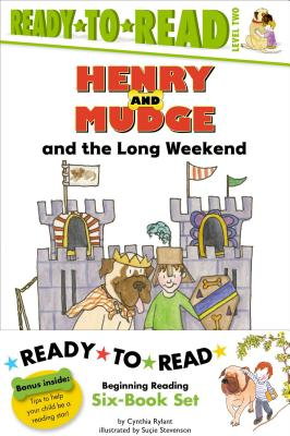 Henry and Mudge Ready-to-Read Value Pack #2: Henry and Mudge and the Long Weekend; Henry and Mudge and the Bedtime Thumps; Henry and Mudge and the Big Sleepover; Henry and Mudge and the Funny Lunch; Henry and Mudge and the Great Grandpas; Henry and Mudge and the Tall Tree House (Henry & Mudge) Cover Image