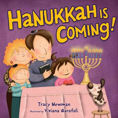 Cover for Hanukkah Is Coming!