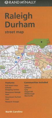 Rand McNally Raleigh Durham, North Carolina Street Map Cover Image