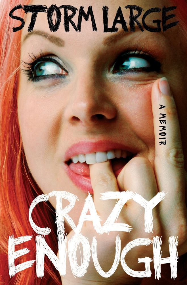Crazy Enough: A Memoir Cover Image