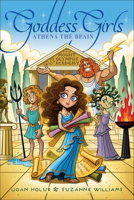 Cover for Athena the Brain (Goddess Girls (Pb) #1)