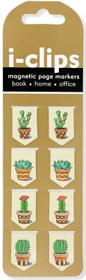 Iclip Magnetic Bkmk Succulents Cover Image