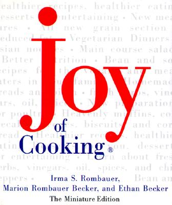 Joy Of Cooking, Miniture Edition 1 Cover Image