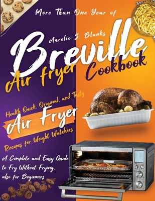 Breville Air Fryer Cookbook Cover Image