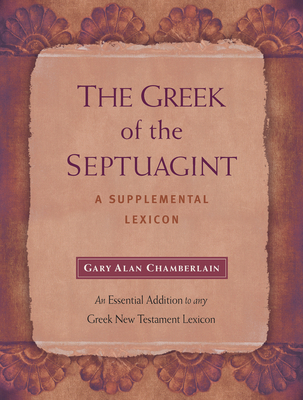 The Greek of the Septuagint: A Supplemental Lexicon Cover Image