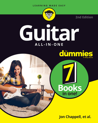 Guitar All-In-One for Dummies: Book + Online Video and Audio Instruction Cover Image