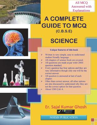 A Complete Guide to MCQ (Science).: CBSE Class 10 examination. Cover Image