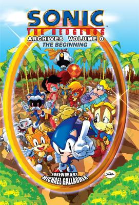 Sonic the Hedgehog Archives, Volume 0 Cover
