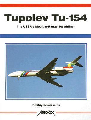 Tupolev Tu-154 - Aerofax Cover Image