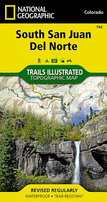 South San Juan, del Norte (National Geographic Trails Illustrated Map #142) Cover Image