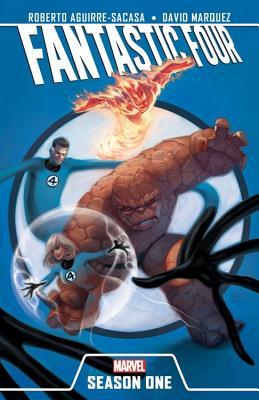 Fantastic Four Season One Cover