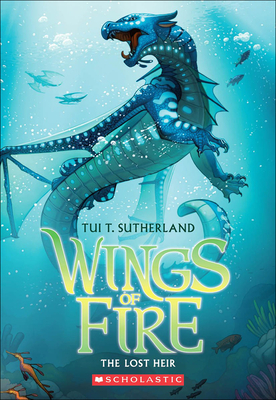 The Lost Heir (Wings of Fire #2) Cover Image