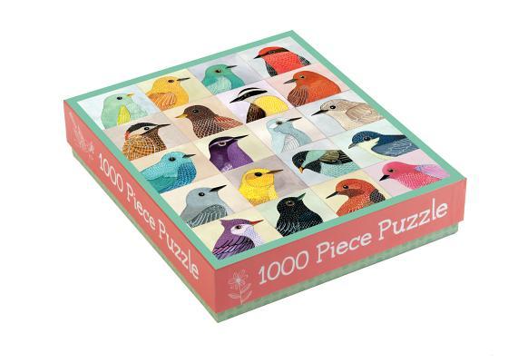 Avian Friends 1000 Piece Puzzle Cover Image