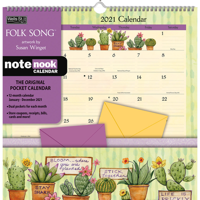 Folk Song 2021 Note Nook(tm) Cover Image