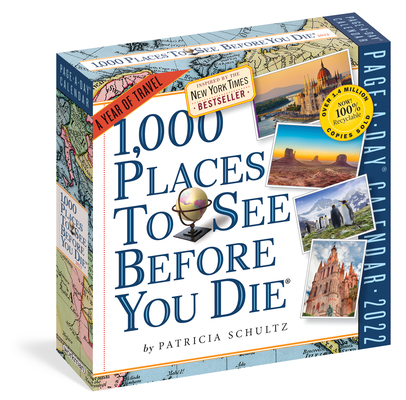 1,000 Places to See Before You Die Page-A-Day Calendar 2022: A Year of Travel Cover Image