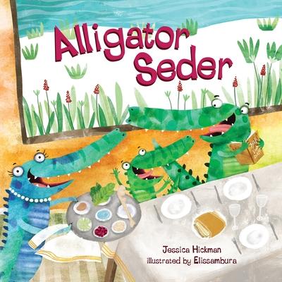 Alligator Seder Cover Image