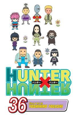 Hunter x Hunter, Vol. 36 Cover Image