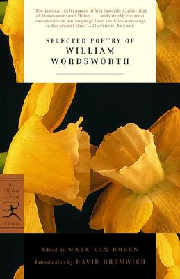 Selected Poetry of William Wordsworth Cover