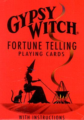 Gypsy Witch(r) Fortune Telling Cards Cover Image