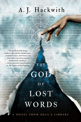 Cover for The God of Lost Words (A Novel from Hell's Library #3)