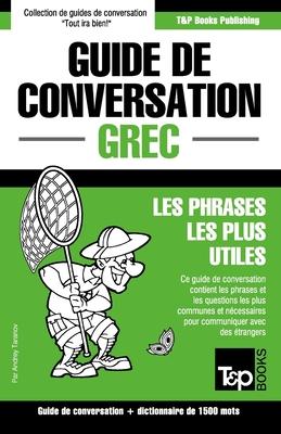 Guide de conversation Français-Grec et dictionnaire concis de 1500 mots (French Collection #134) Cover Image