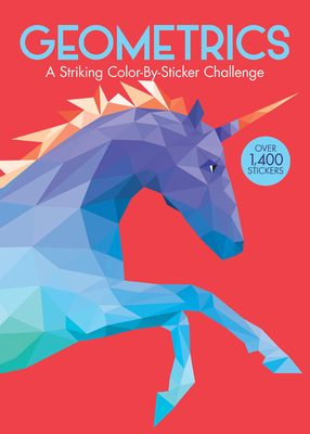Geometrics: A Striking Color-By-Sticker Challenge Cover Image