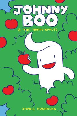 Johnny Boo and the Happy Apples (Johnny Boo Book 3) Cover Image
