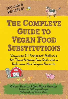 The Complete Guide to Vegan Food Substitutions Cover