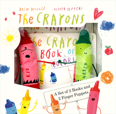 The Crayons: A Set of Books and Finger Puppets Cover Image