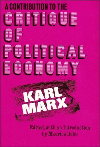 Contribution to the Critique of Political Economy Cover Image