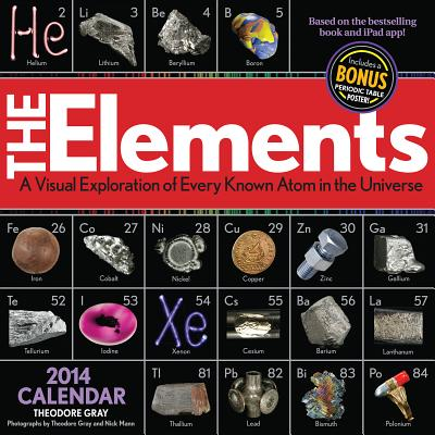 The Elements 2014 Calendar Cover Image