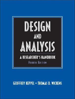 Design and Analysis: A Researcher's Handbook Cover Image