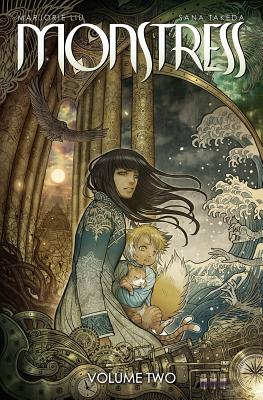Monstress Volume 2: The Blood Cover Image
