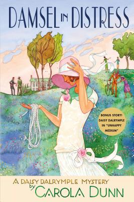 Damsel in Distress: A Daisy Dalrymple Mystery (Daisy Dalrymple Mysteries #5) Cover Image