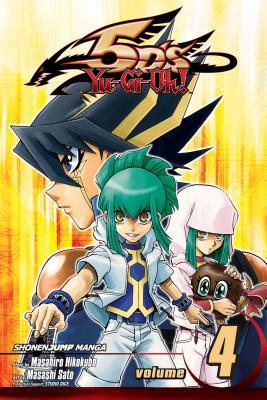 Yu-Gi-Oh! 5D's, Volume 4 Cover