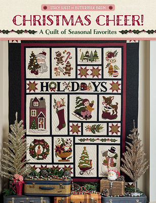 Christmas Cheer!: A Quilt of Seasonal Favorites Cover Image