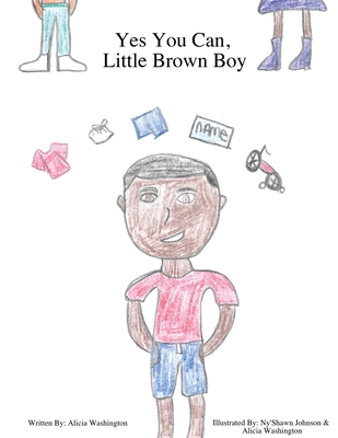 Yes You Can, Little Brown Boy Cover Image