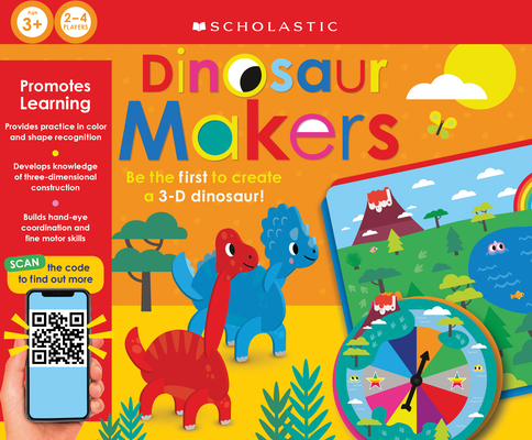 Dinosaur Makers: Scholastic Early Learners (Learning Game) Cover Image