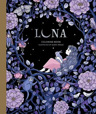 Luna Coloring Book Cover Image