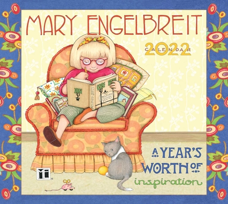 Mary Engelbreit's 2022 Deluxe Wall Calendar: A Year's Worth of Inspiration Cover Image