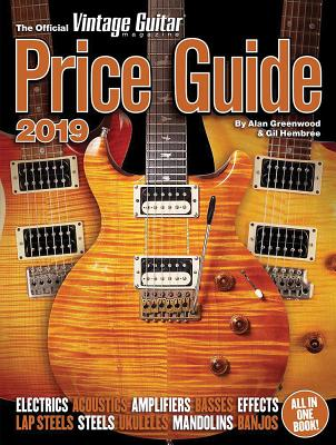 The Official Vintage Guitar Magazine Price Guide 2019 Cover Image
