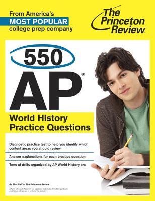 550 AP World History Practice Questions Cover