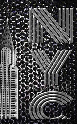 Black Diamond Iconic Chrysler Building New York City Sir Michael Huhn Artist Drawing Journal Cover Image