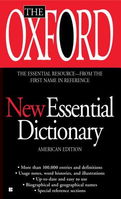 The Oxford New Essential Dictionary: American Edition Cover Image