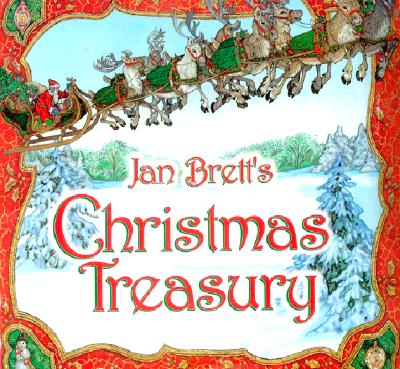 Jan Brett's Christmas Treasury Cover Image