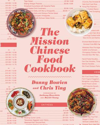 The Mission Chinese Food Cookbook Cover Image