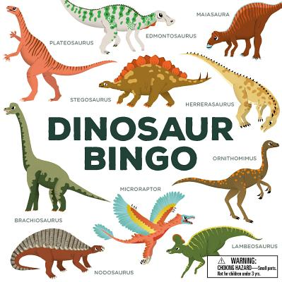 Dinosaur Bingo: (An easy-to-play game for children and families) Cover Image